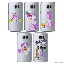 Licorne Coque/Étui Samsung Galaxy S6 Edge / Protecteur d'écran / Doux Silicone