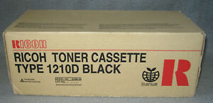 Ricoh Toner Cassette 1210D Black Schwarz Neu OVP H190-54