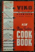VINTAGE SPIRAL COOKBOOK VIKO ALUMINUM WI COOKBOOK 1939 LOCAL RECIPES COOK BOOK