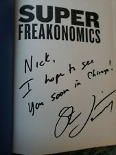 SuperFreakonomics : Global Cooling, Patriotic Prostitutes, and...SIGNED!!!