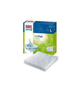 Juwel Filterwatte Bioflow 6.0 Standard / bioPad L 5er Pack Filtervlies