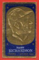 1965 Topps Embossed #65 Bobby Richardson VG-VGEX+ New York Yankees FREE SHIPPING