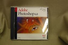 Adobe Photoshop 6.0 for Windows Full Version w/ Serial Number #7742