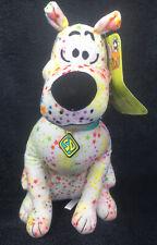 "New ListingScooby Doo Plush Toy Factory 12"" Stars White Rainbow Polka Dot Splatter New Nwt"