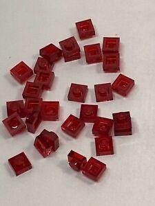 Bulk Lot Lego Part No.3024: Transparent Plate 1 x 1, Qty x 30