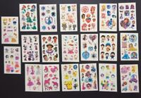 Girls Temporary Tattoos Lot of 5 Princess / Kitty Party Gift DIY lolly loot bag