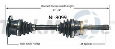 CV Axle Shaft Front-Left/Right SurTrack NI-8099