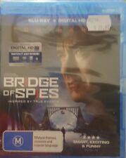 *New & Sealed* Bridge Of Spies (Blu-ray 2016) Tom Hanks True Story. Region B AUS