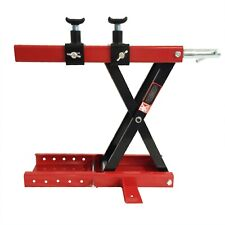 500 Motorcycle Scissor Lifting Utility Motorbike Vehicle Lift Stand Jack 1100 LB
