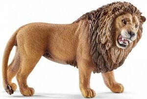 Schleich 14726 Lion Roaring 4 1/8in Series Wild Animals