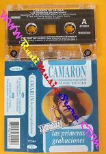 MC CAMARON Las primeras grabaciones 1995 spain PACO DE LUCIA no cd lp vhs dvd