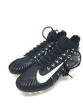 Nike Alpha Menace Elite Football Cleats Black White (871519-010) Men's Size