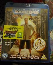 Zookeeper (Blu-ray, 2011) brand new with PS3 Demo.. Sealed