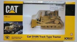 Norscot Caterpillar D10N Track-Type Tractor -Yellow-1:50 Diecast 55701