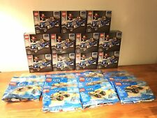 Lego Limited Edition Sets 40409 Hot Rod and 30369 Beach Buggy ELEVEN OF EACH