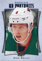 16/17 UPPER DECK UD PORTRAITS ROOKIE RC #P-63 MIKE REILLY WILD *29739