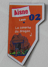 02 AISNE MAGNET LE GAULOIS CARTE NOUVELLE COLLECTION DEPART AIMANT