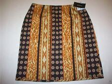 WOMEN'S KNEE-LENGTH SKIRT 6P BROWNS NWT by SANDRA