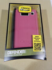 NEW Otterbox Motorola RAZR MAXX HD Defender Series Blushed Pink Case w