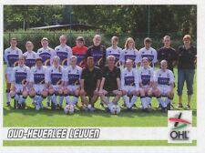 N°568 EQUIPE TEAM # BELGIQUE OUD-HEVERLEE LEUVEN STICKER PANINI FOOTBALL 2011