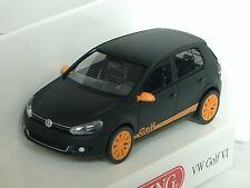 Wiking VW golf VI nero opaco - 0074 03 - 1:87