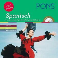 PONS Lernen & Genießen Spanisch: Der etwas andere Sprachkurs für Spanien-Liebhab