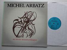 Michel ARBATZ Au revoir Monsieur Mingus ORIG LP ICARE (1982) NMINT