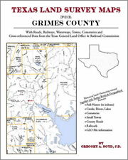 Grimes County Texas Land Survey Maps Genealogy History