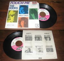 THE DOORS - Touch Me ORG french Press PS 7' Psych Rock 68' W/Languette