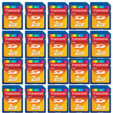 20 Pack Secure Digital SD 2GB 2 GB Memory Card for Older Cameras