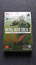 METAL GEAR SOLID 3 SUBSISTENCE - PS2 - KOREAN LIMITED EDITION RARE *BRAND NEW*