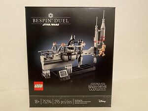 LEGO 75294 Star Wars Bespin Duel Empire Strikes 40th Celebration