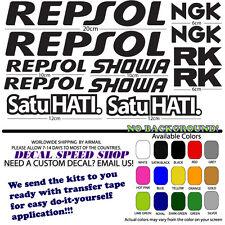 Repsol Honda CBR NSR VFR kit Decals