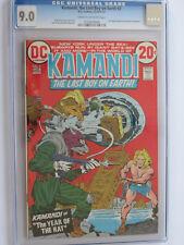 Kamandi # 2 us dc 1972 Jack Kirby Story & Art cgc 9.0 VFN-nm