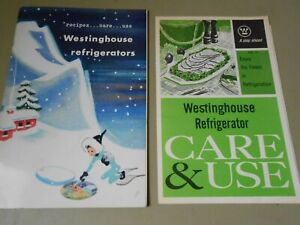1948 Westinghouse Refrigerators Recipe  & Care and Use Booklet