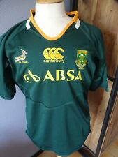 ANCIEN MAILLOT RUGBY SOUTH AFRICA CANTERBURY ABSA T.XL