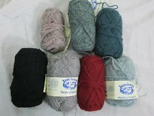 Lot of 2 New 5 Partly Used Jamiesons Shetland Spindrift Yarn