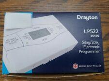 Drayton LP522 25475 5day/2day Electronic Programmer