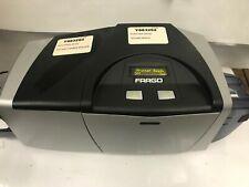 Fargo Dtc400 Badge, Id Card Printer Used Model 044100