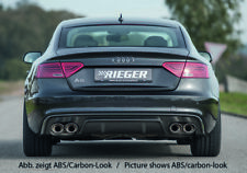Rieger CUP Diffusor SCHWARZ Audi A5 B8 S5 S-Line Sportback FL Heckansatz 115x85