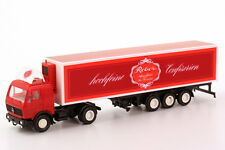 1:87 Mercedes-Benz NG Refrigerated semi-trailer Reber High quality Pastry shops