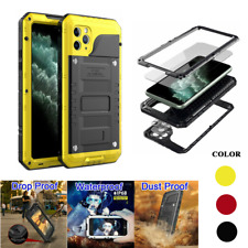 Waterproof Metal Heavy Duty Military Case for iPhone 6 7 8 XR XS 11 Pro Max IP68