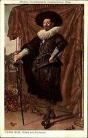 """Künstlerkarte Kunstverlag Wolfrum Wien ~1910 FRANS HALS """"Willem van Heythuisen"""""""