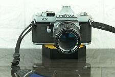 Pentax K2 35mm SLR CAMERA AND SMC PENTAX M 135mm Lens..FILM TESTED