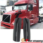 Fits Volvo VNL 2005-2018 Gloss Black Smooth Mirror Cover Driver+Passenger Side