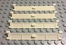 Lego New Bulk Lot White City Garage Door Roller With Handle Part X4 Pieces