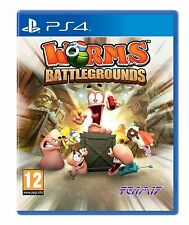 PS4 Game Worms Battlegrounds for PlayStation 4 NEW