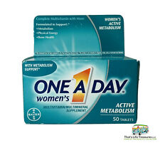 Women's One A Day Active Metabolism Multivitamin Multimineral Supplement