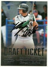 2011 Playoff KEENYN WALKER Signed Card autograph WHITE SOX RC