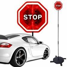 LED Stoppschild EINPARKHILFE persönlicher Einweiser für Garage Carport Parkplatz
